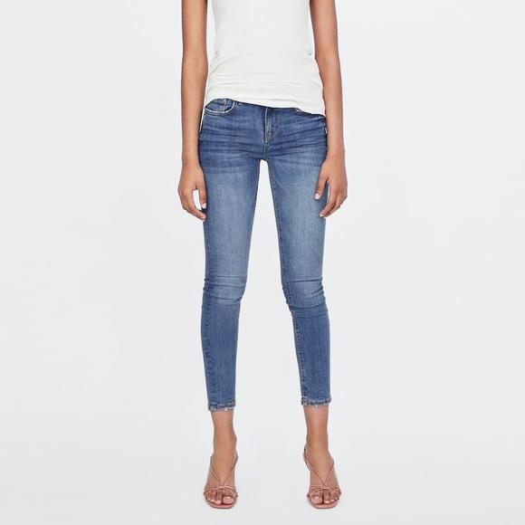 4521bff8ed Zara Premium Skinny Viola Maldive Jeans NWT